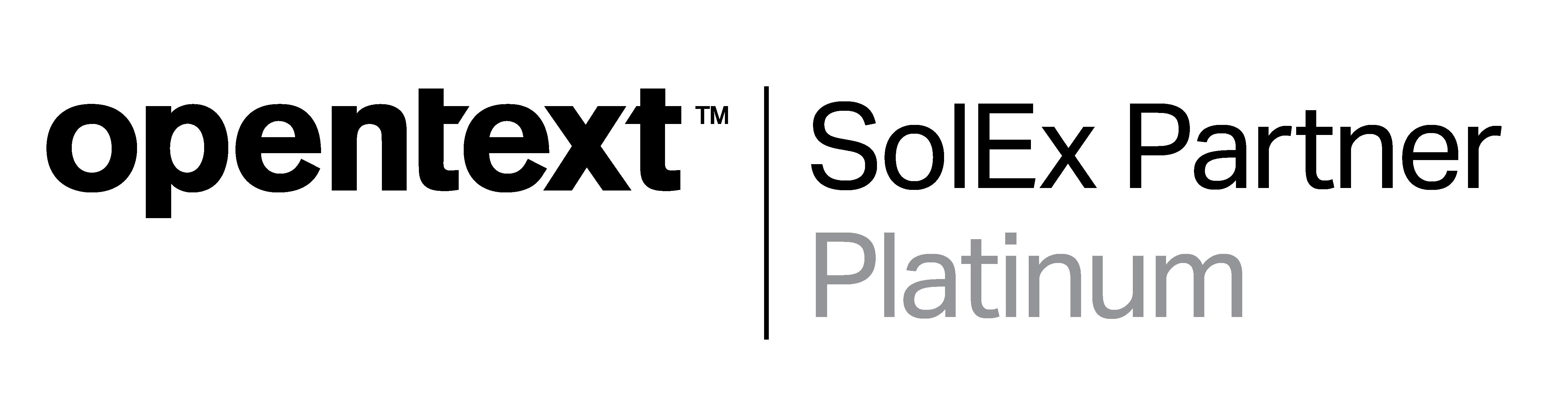 OT SolEx Partner Platinum Wordmark